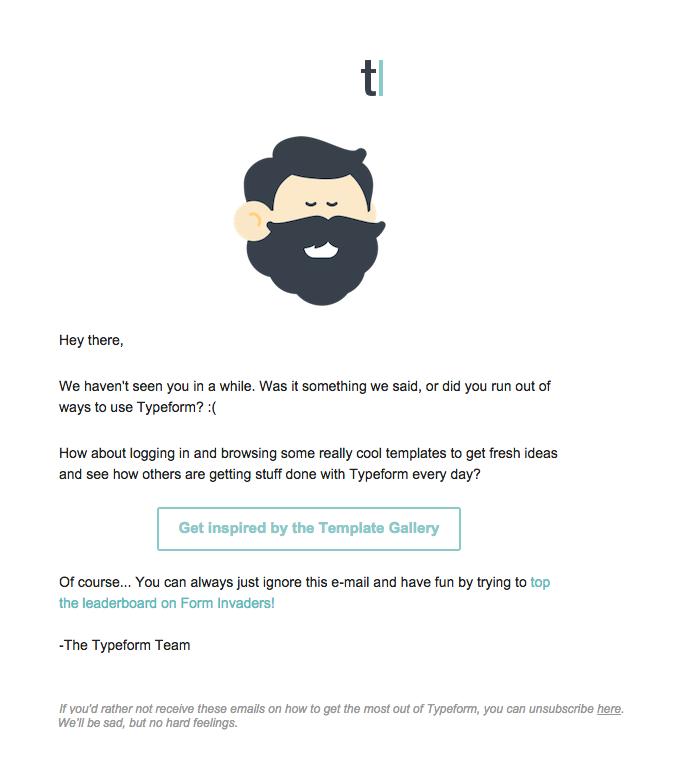 Typeform email