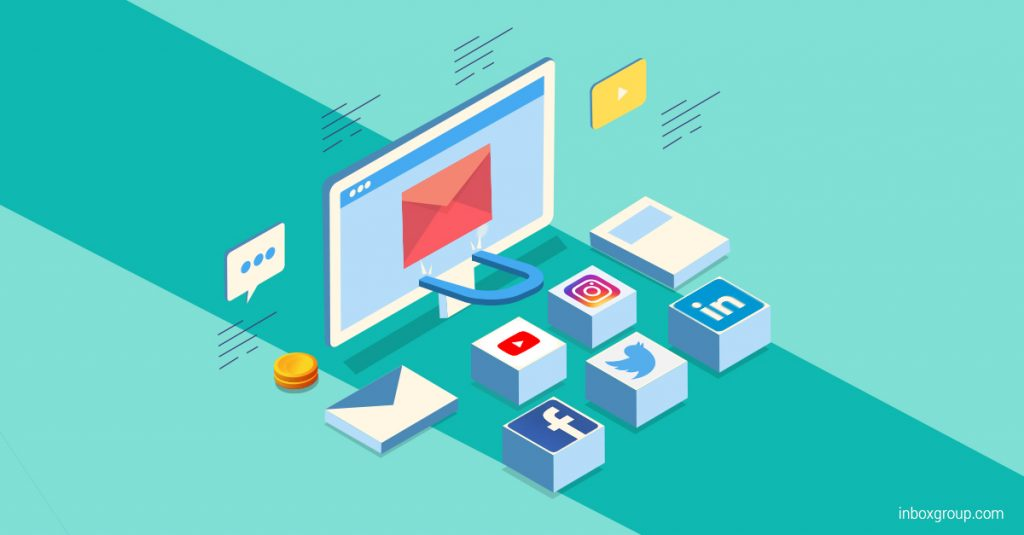 social media to build email list